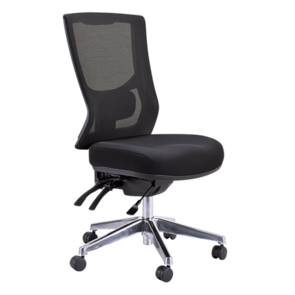 Buro Metro II High Back 24/7 Chrome Base Chair