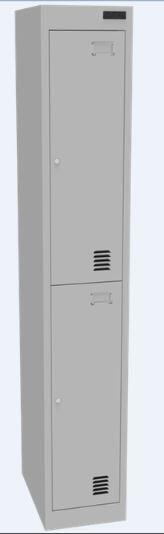 Proceed Steel Locker 2 Door