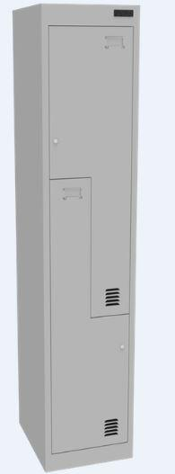 Proceed Steel Locker 2 Step