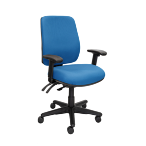 Buro Roma 3 Lever High Back Chair with Arms