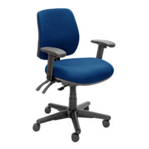 Buro Roma 3 Lever Mid Back Chair with Arms