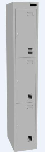 Proceed Steel Locker 3 Door