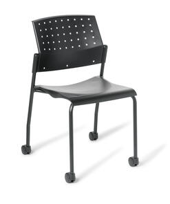 Eden 550 4-leg Chair with Castors