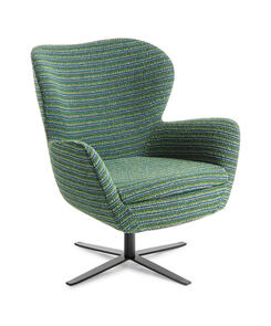 Eden Abbey 4 Point Black Base Chair