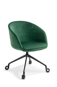 Eden Aria 4-star Black Swivel Base Chair