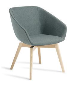 Eden Barker Natural Beech Timber Base Chair