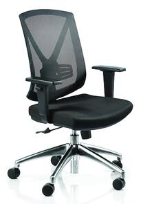 Buro Brio ll Chrome Base Chair