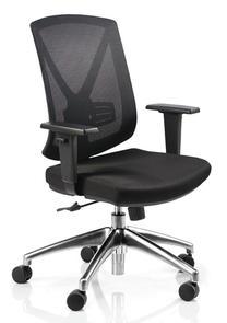 Buro Brio ll Chrome Base Chair