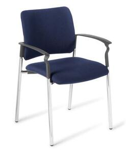 Eden Polo Chrome Frame with Arms Chair
