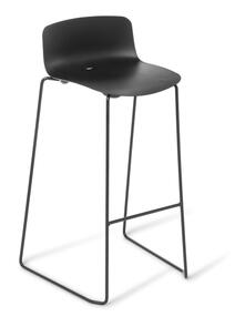 Eden Coco Black Frame Bar Stool