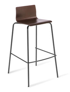 Eden Cruise 4-leg Black Stool