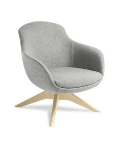 Eden Davina Natural Ash Timber Base Chair