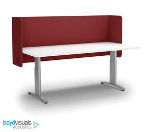 Boyd Visuals Acoustic Desk Screen Pod 1800 x 600