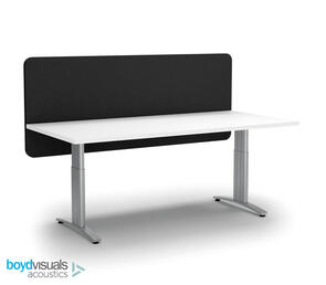 Boyd Visuals Acoustic Desk Screen Modesty Panel 1500 x 600