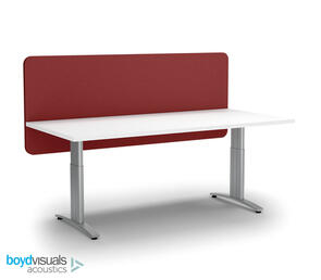 Boyd Visuals Acoustic Desk Screen Modesty Panel 1800 x 600