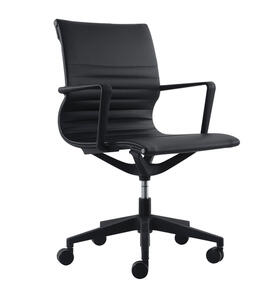 Buro Diablo Black PU Chair