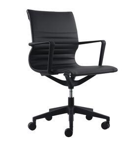 Buro Diablo Black PU Chair