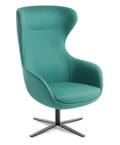 Eden Elizabeth Black 4-Point Base Chair