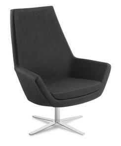 Eden Eton High Back 4-point Chrome Base Chair
