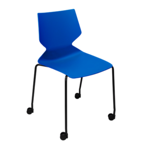 Konfurb Fly 4-leg Chair with castors