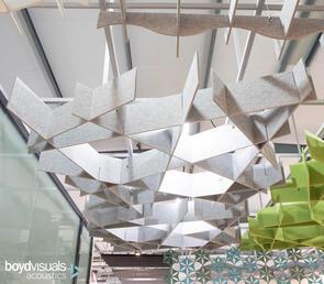 Boyd Visuals Fly Ceiling Lattice