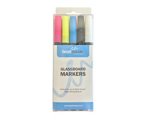 Boyd Visuals Glass Board Markers 10pk