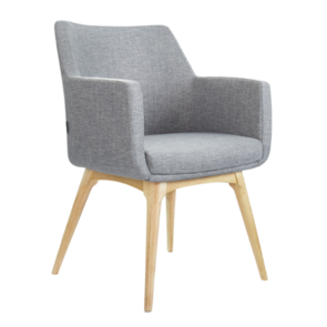 Konfurb Hady Solid Wooden Legs Chair