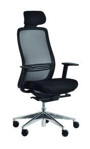 Konfurb Luna Chair Aluminium Base