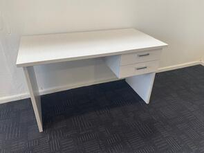 Mada Student Desk 1200L x 600D with 2 Drawer ped