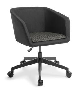 Eden Martina 5-star Swivel Black Base Chair