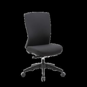 Mentor Upholstered Back Chair Nylon Base