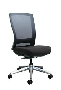 Buro Mentor Mesh Back Aluminium Base Chair