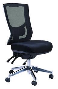 Buro Metro ll High Back 24/7 Chrome Base Chair