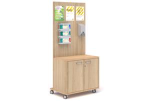 Workplace Mobile Sanitization station