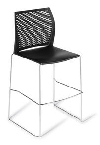 Eden Net Chrome Bar Stool
