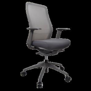 Konfurb Luna Chair Nylon Base with 2d Arms