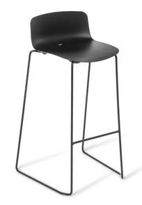 Eden Coco Kitchen Stool Black Frame