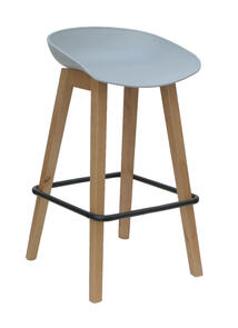 Konfurb Pala Barstool with Polyprop Seat