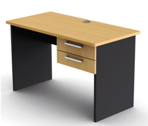 Proceed Straight Desk with Drawers