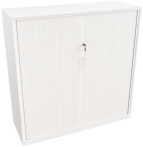 Proceed Tambour 1020h x 900w x 450d White