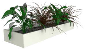 Slider Planter Box White