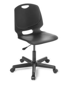 Eden Spark Black Frame Swivel Chair