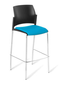 Eden Spring Bar Stool - Upholstered