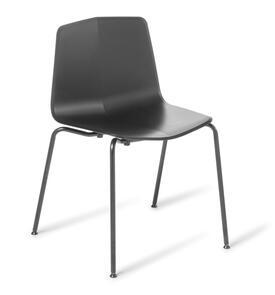 Eden Stratos 4-leg Chair Black Frame