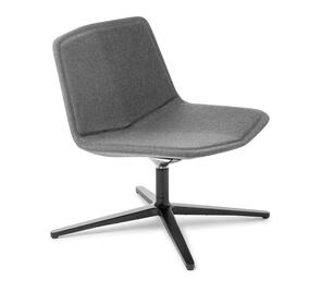 Eden Stratos Lounge Chair with Black 4-point Base