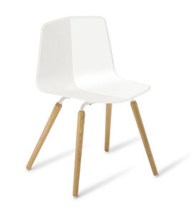 Eden Stratos Timber Legs Chair