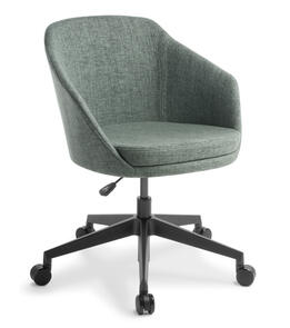 Eden Talia 5-star Swivel Black Base Chair