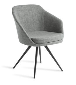 Eden Talia Black Stork Base Chair