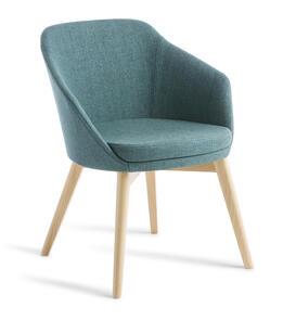 Eden Talia Timber Natural Beech Frame Chair