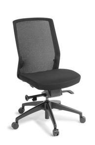 Eden Track Black Frame Chair